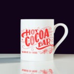 Red Coffe Cup Mockup