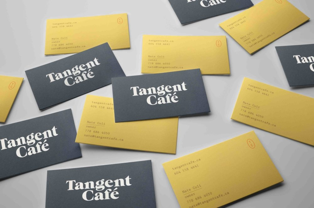 Vertical Business Cards Mockups