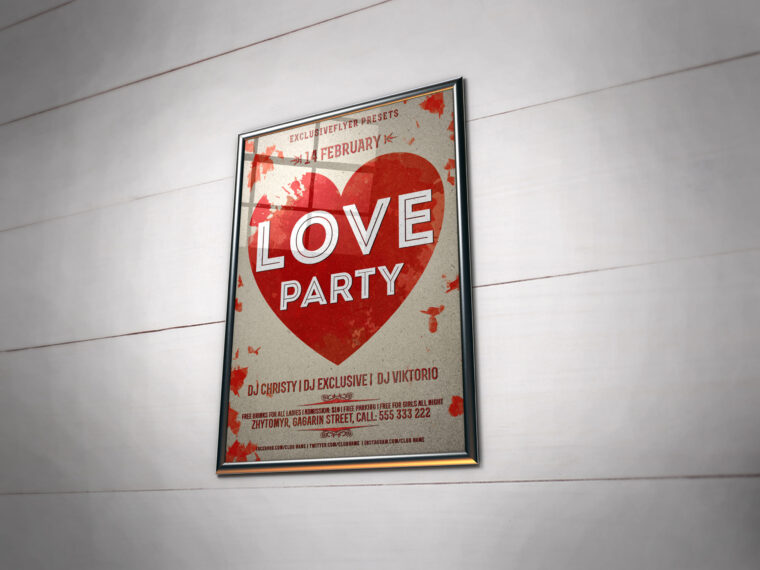 bus Poster Mockups