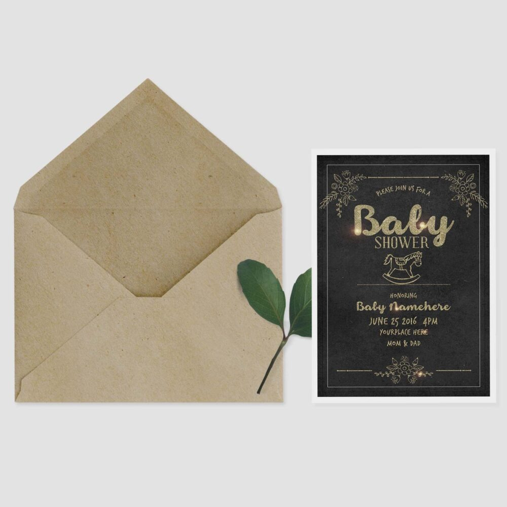 Birthday Invitation Mockup