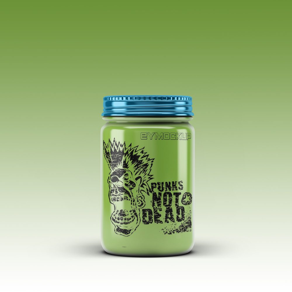 Jar Bottle Mockup