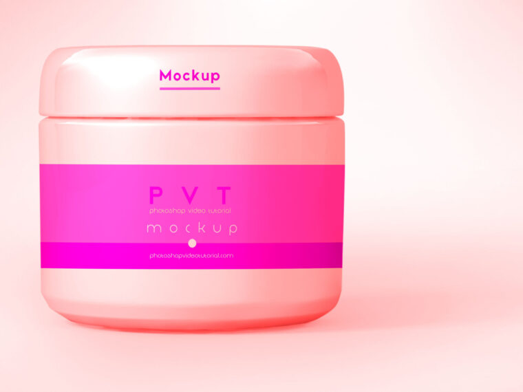 Beauty Cream Mockup