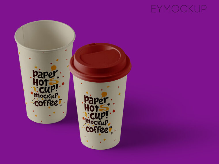 Big Coffe Cup Mockup