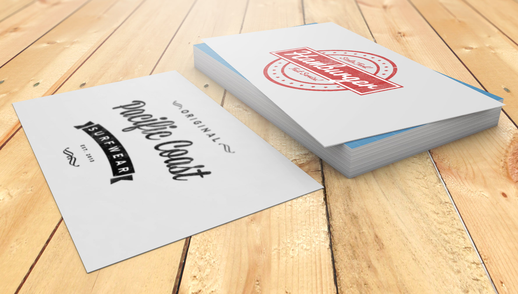 Awesome Business Card Mockup | eyMockup