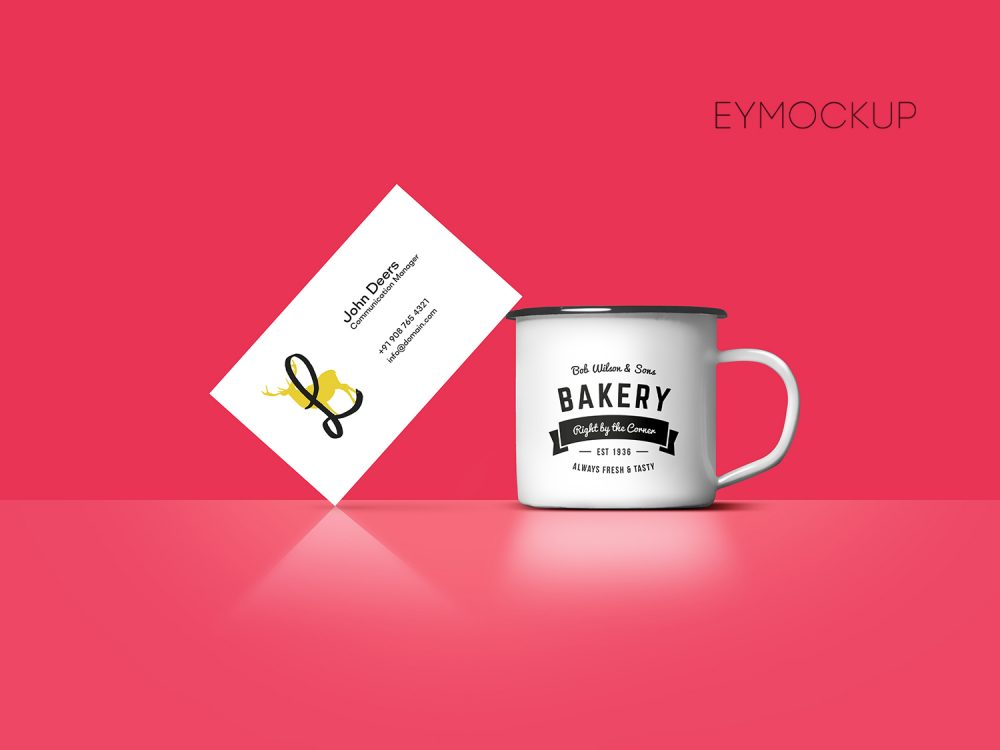 Coffee Cupn Business Card