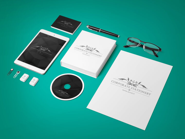 Premium Corporate Stationery Mockup