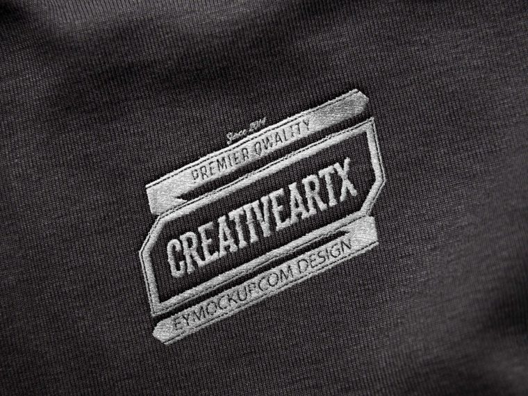 Tshirt Design Label Mockup