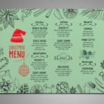 Eye Catching 4 Restaurant Menu templates