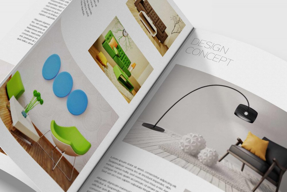 Brochure Catalogs Mockups