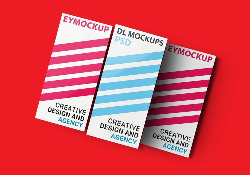 New Awesome DL Flyer Mockups
