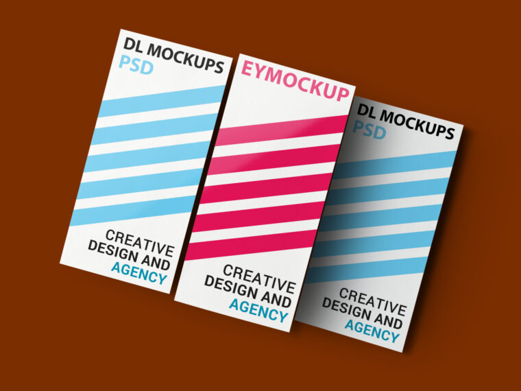 Awesome DL Flyer Mockups