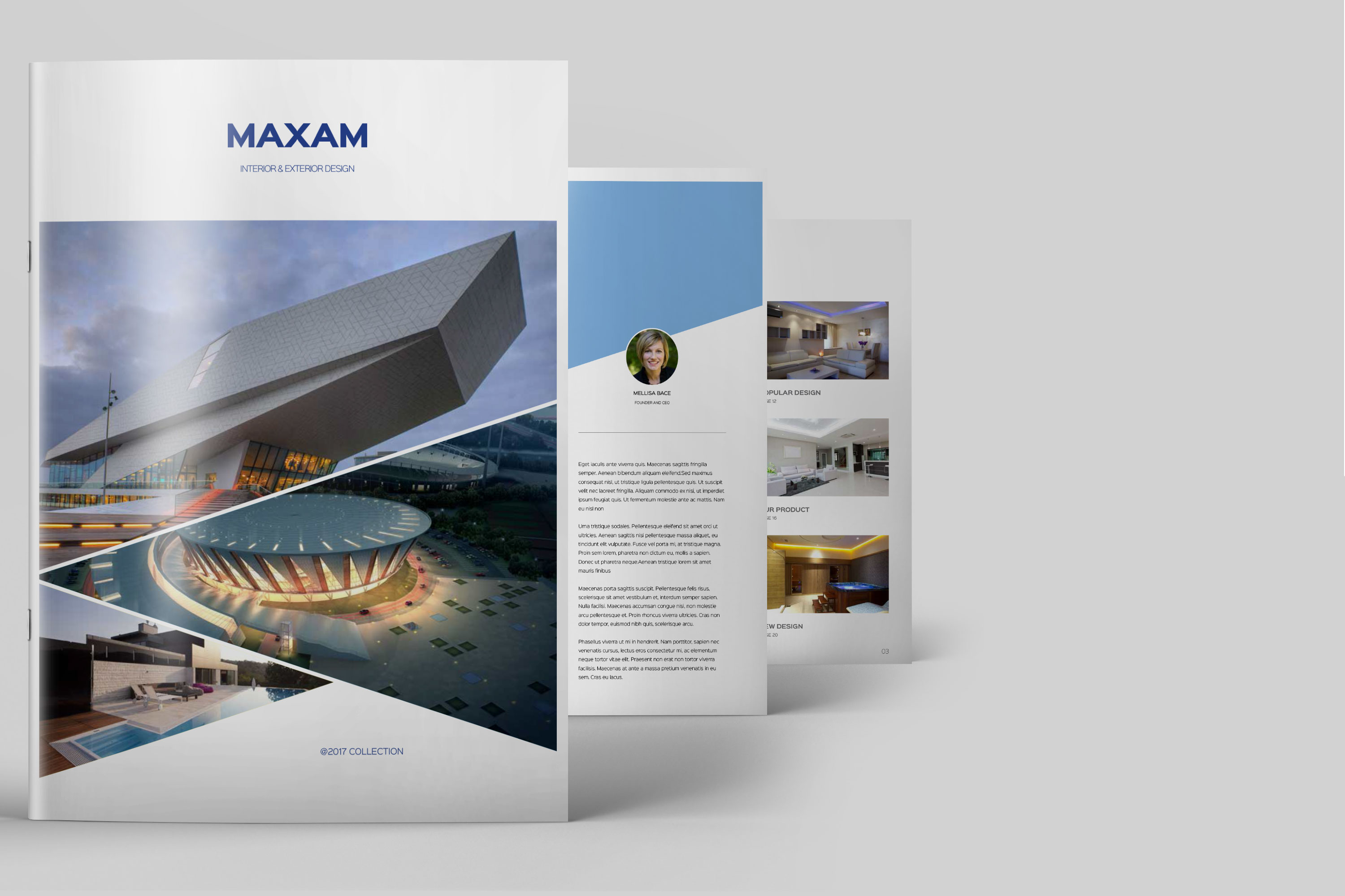 latest Brochure Mockups