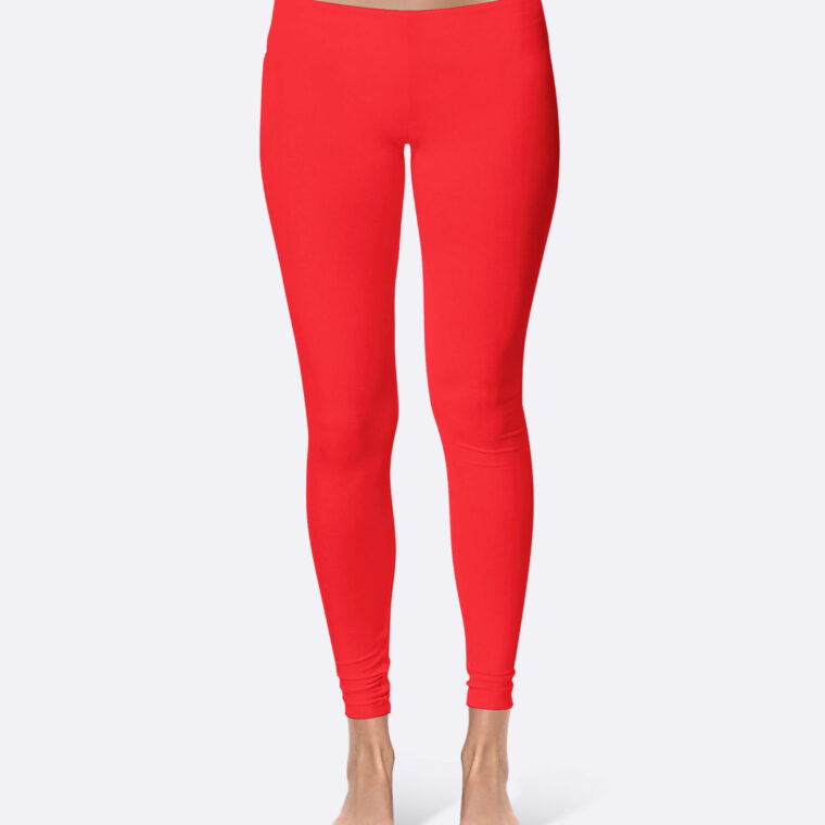 Legging Design Mockup