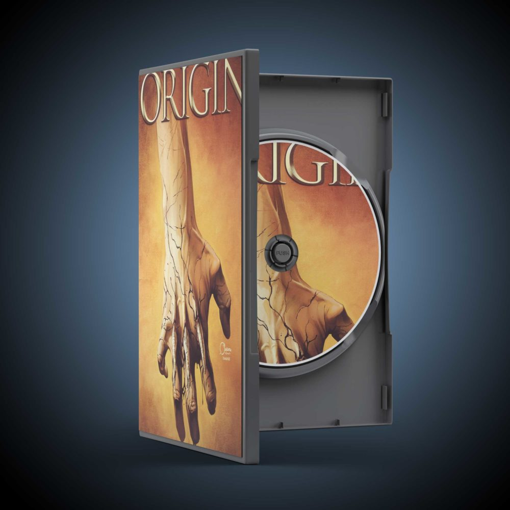 Open DVD Case Mockups