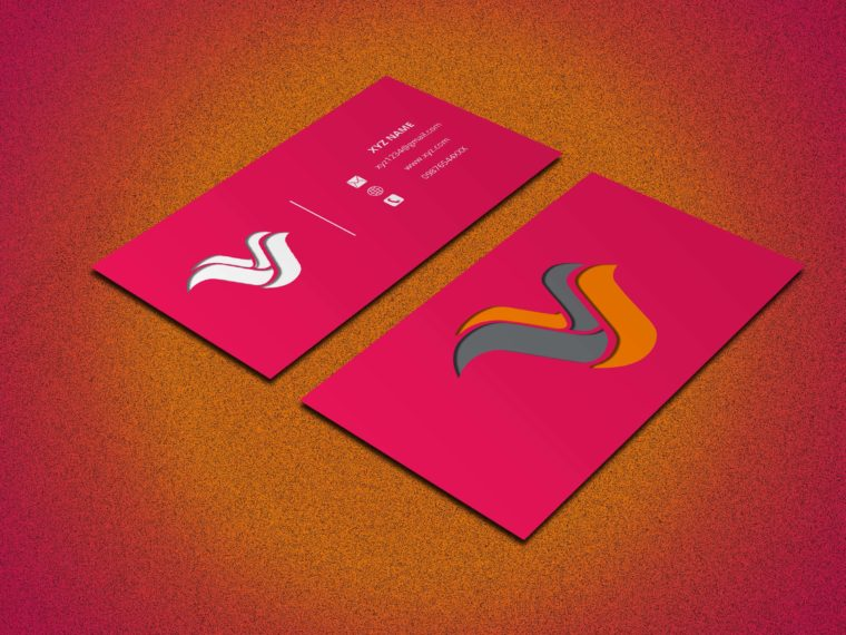 Corporate Business Card Mockup Bundle