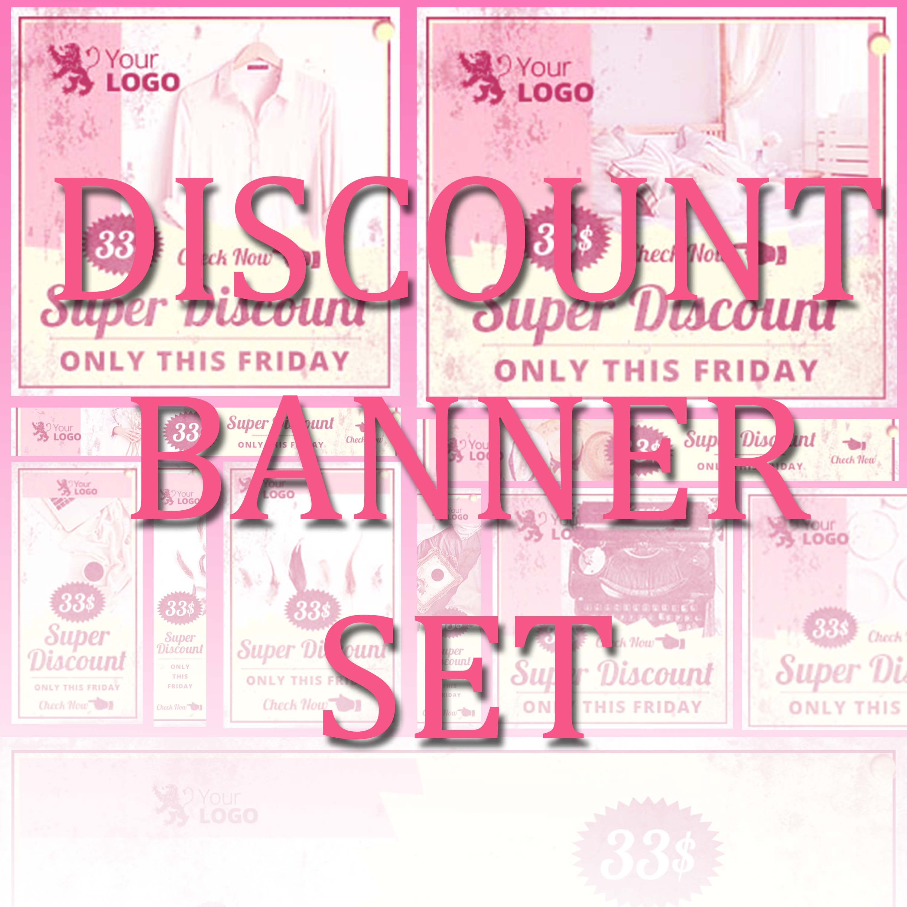 E-commerce Banner Pack