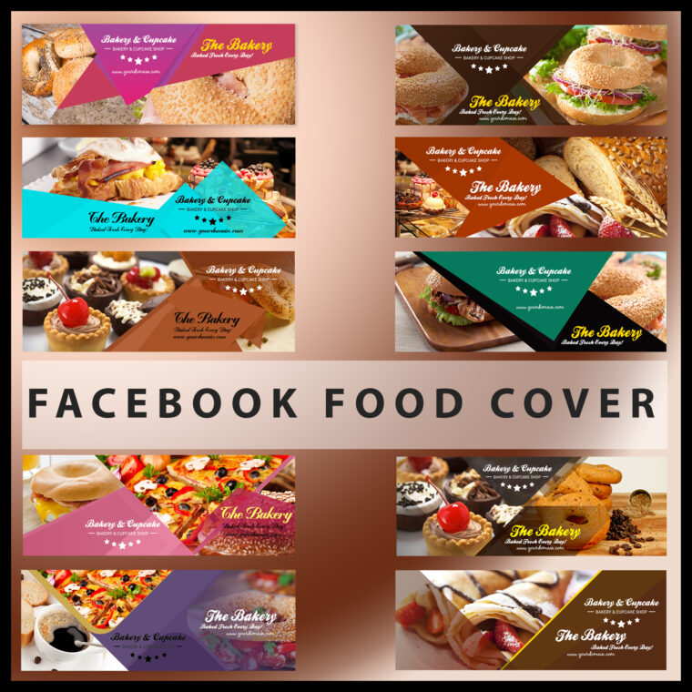 Food Cover Design Bundle