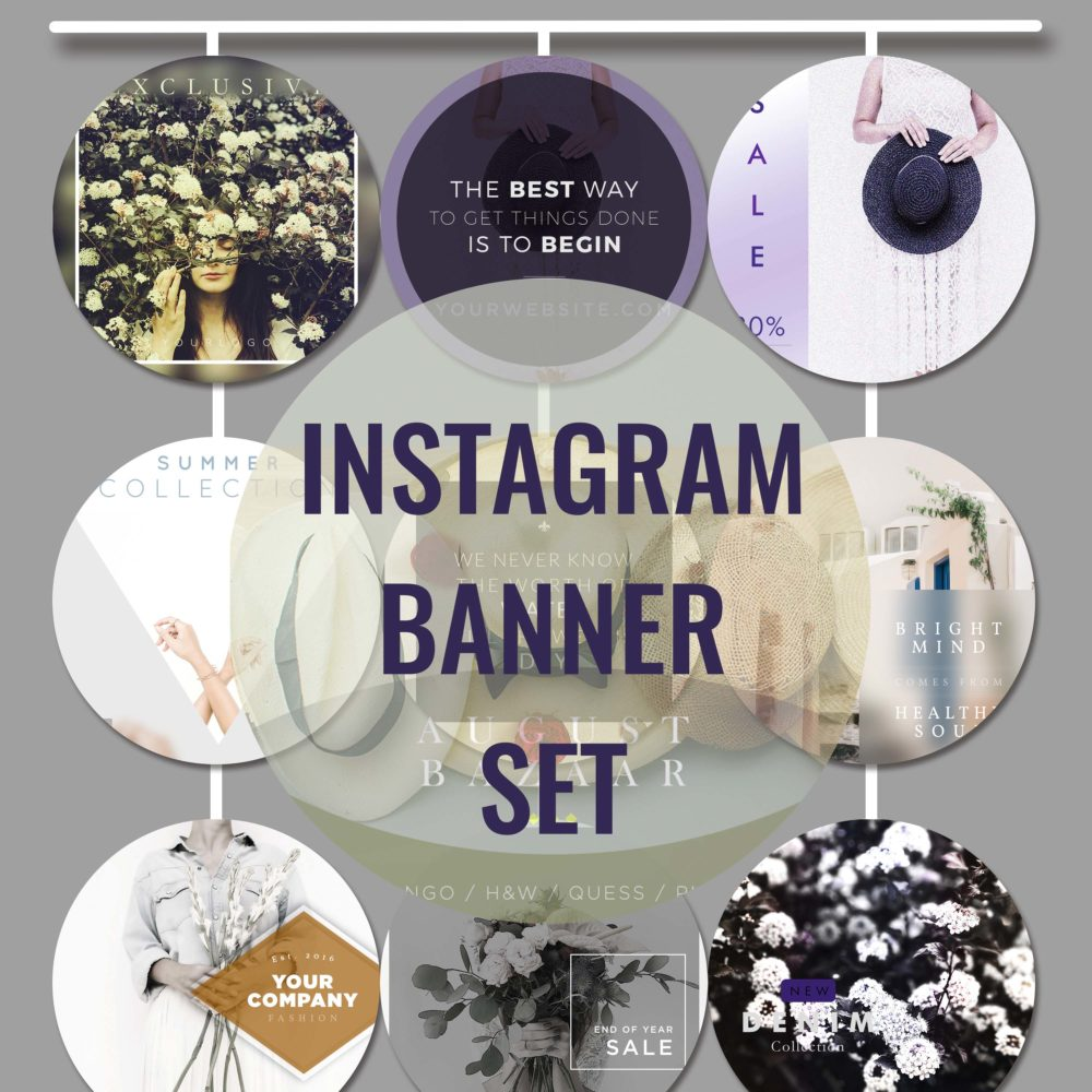 Instagram Banners Collection