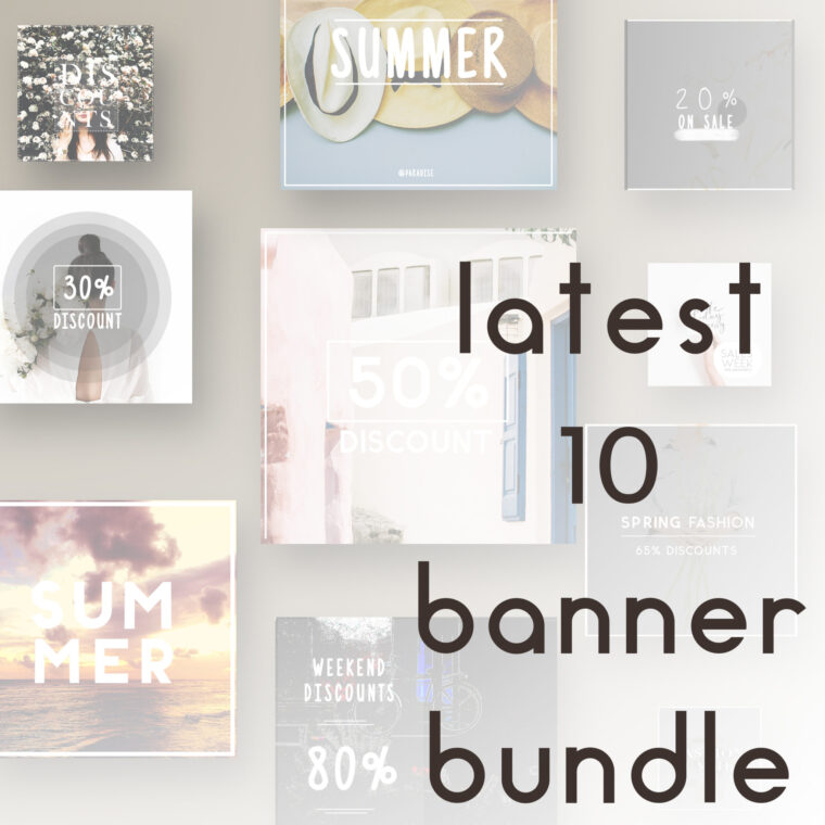 Instagram Creative Banner Bundle