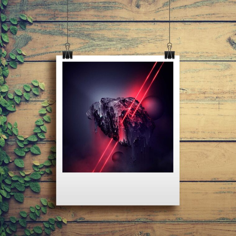 Colourful Photo Mockup