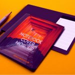 Notebook Cover Mockup Set