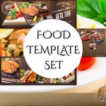 Organic Food Facebook Template Bundle