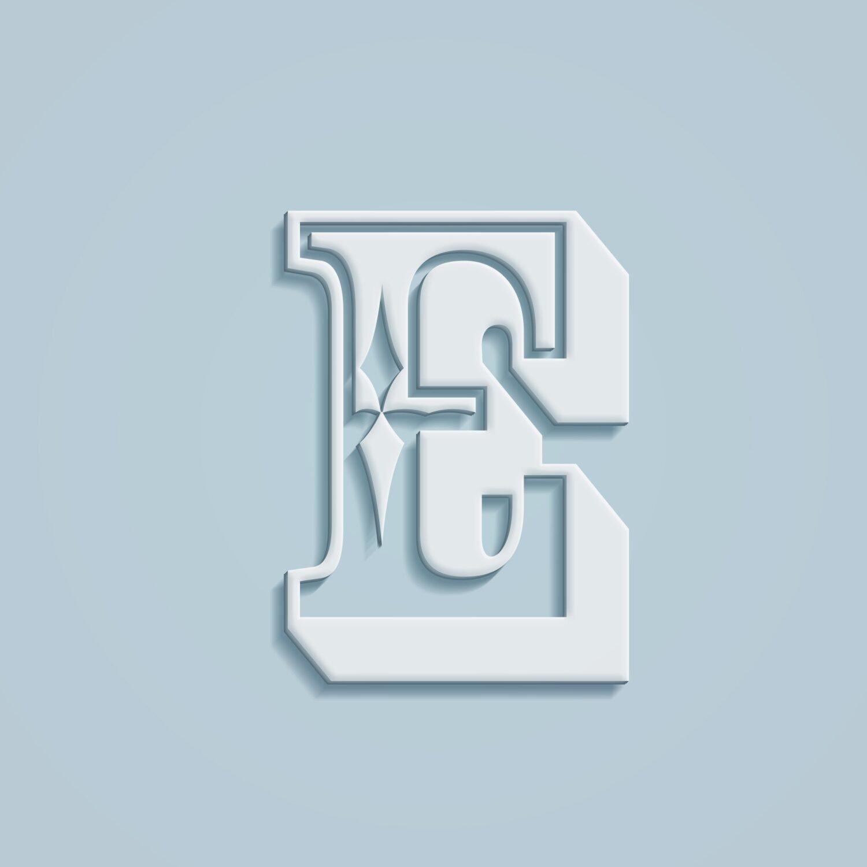 Chracter Typography Mockup