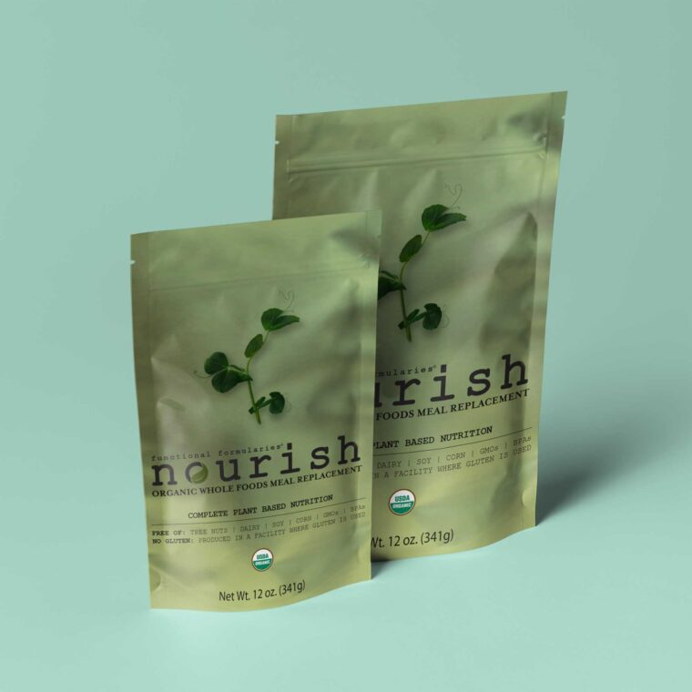Pouch Label Mockup