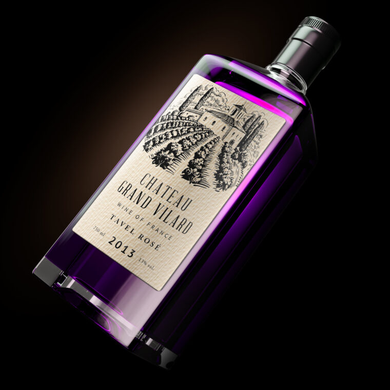 Liquor Bottle Label Mockup
