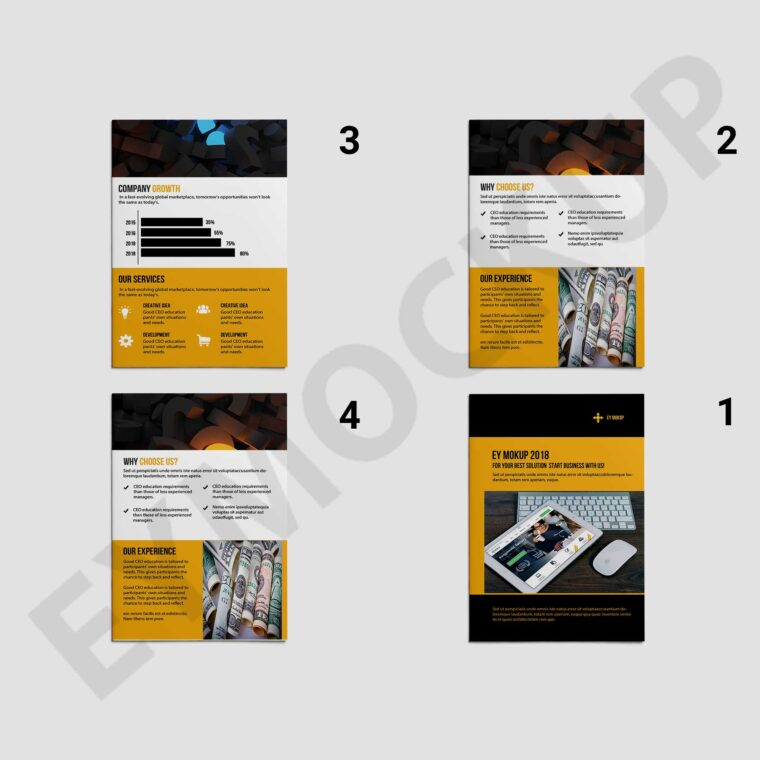 Bi-Fold Business Brochure