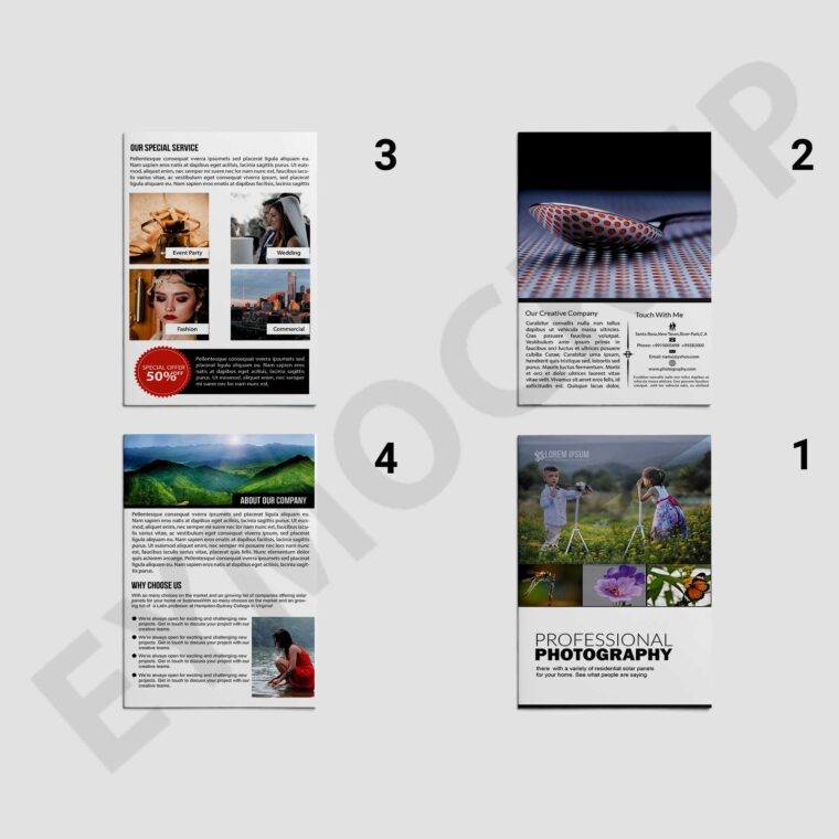 Photography Bi-Fold Brochure
