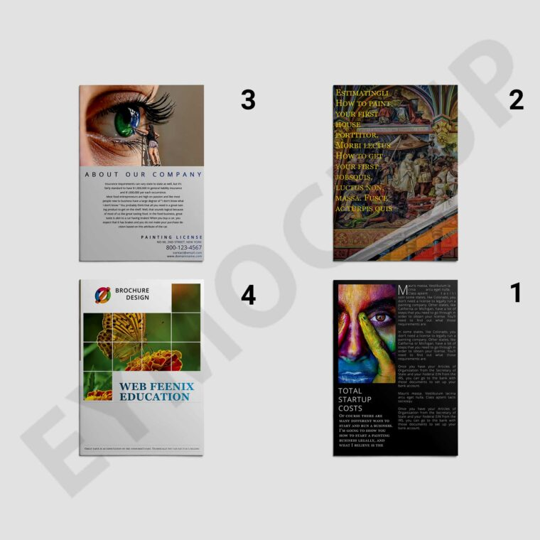 Creative Art Bi-Fold Brochure