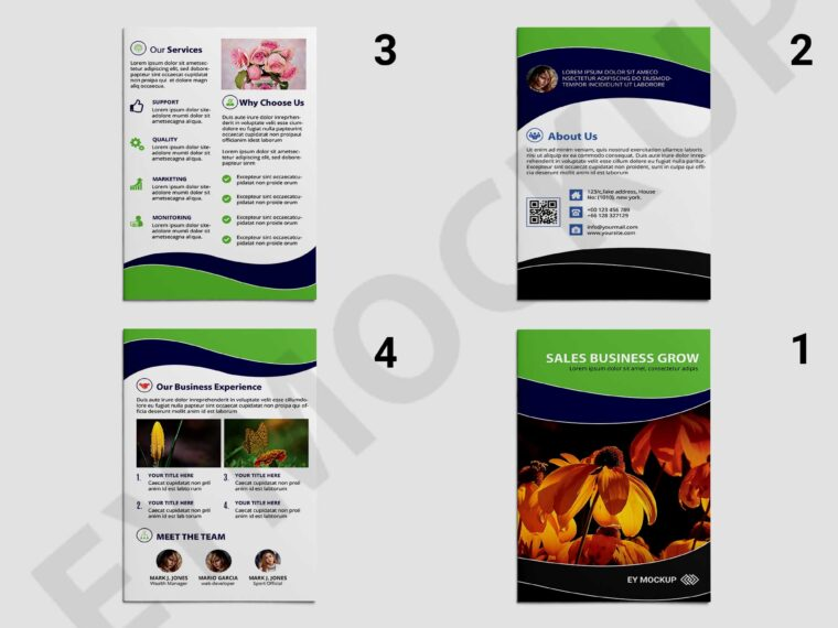 Marketing Brochure Template