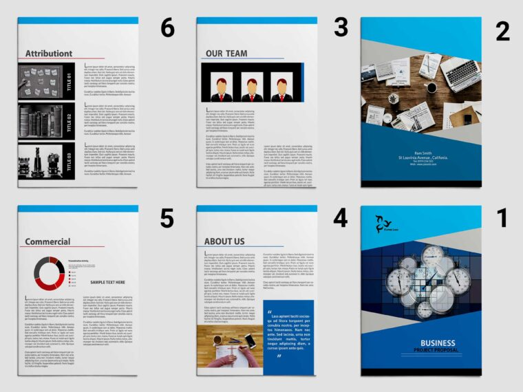 Latest Design Business Brochure