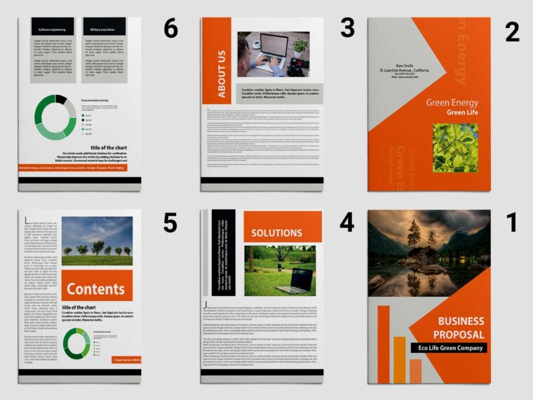 Latest Business Proposal Brochure