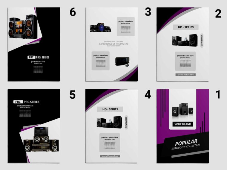 Premium Electronic Catalog Brochure