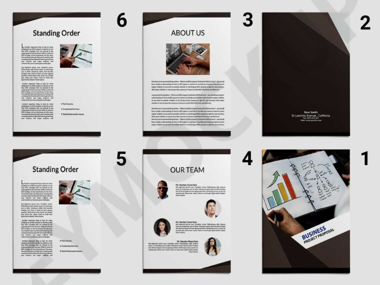 Creative Business Proposal Brochure Template