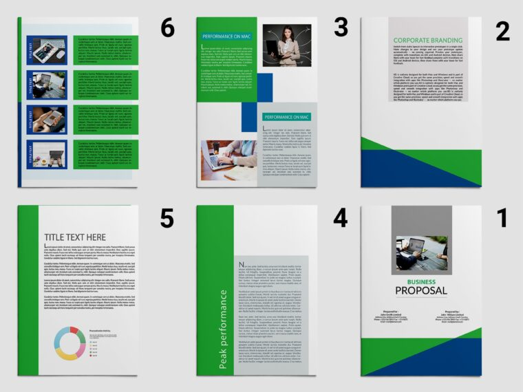 Premium Business Brochure Design 2018
