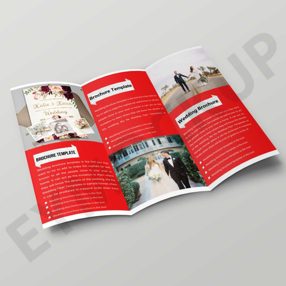 Tri-Fold Wedding Brochure