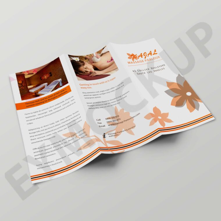 Salon Tri-Fold Brochure