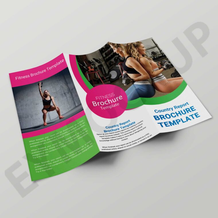 Multi Purpose Tri-Fold Brochure Template