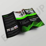 Operation Tri-Fold Brochure Template