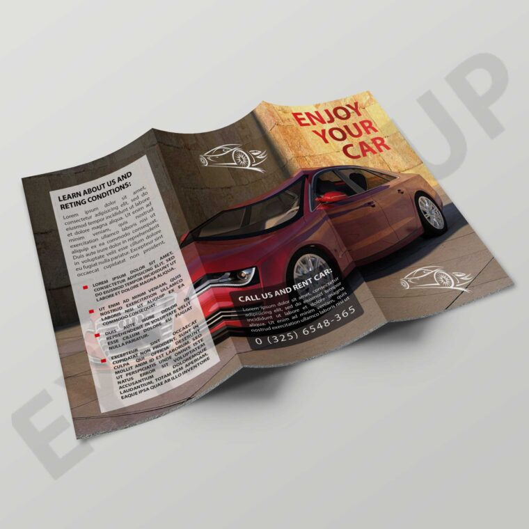 Showroom Tri-Fold Brochure
