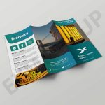 Clean Tri-Fold Brochure Templates