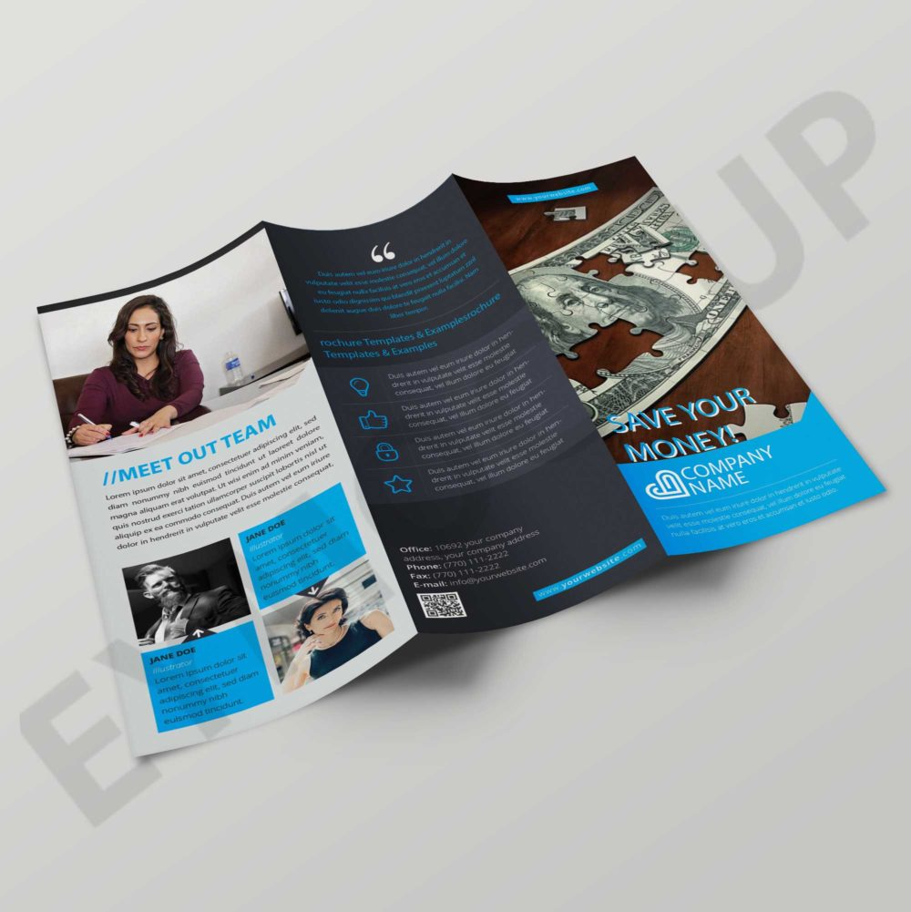 Money Tri-fold Brochure