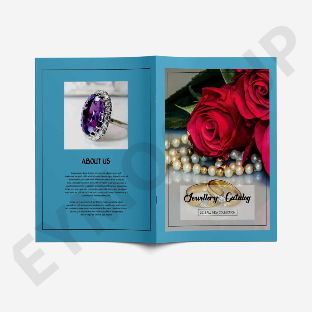 Jewellery Catalog Brochure