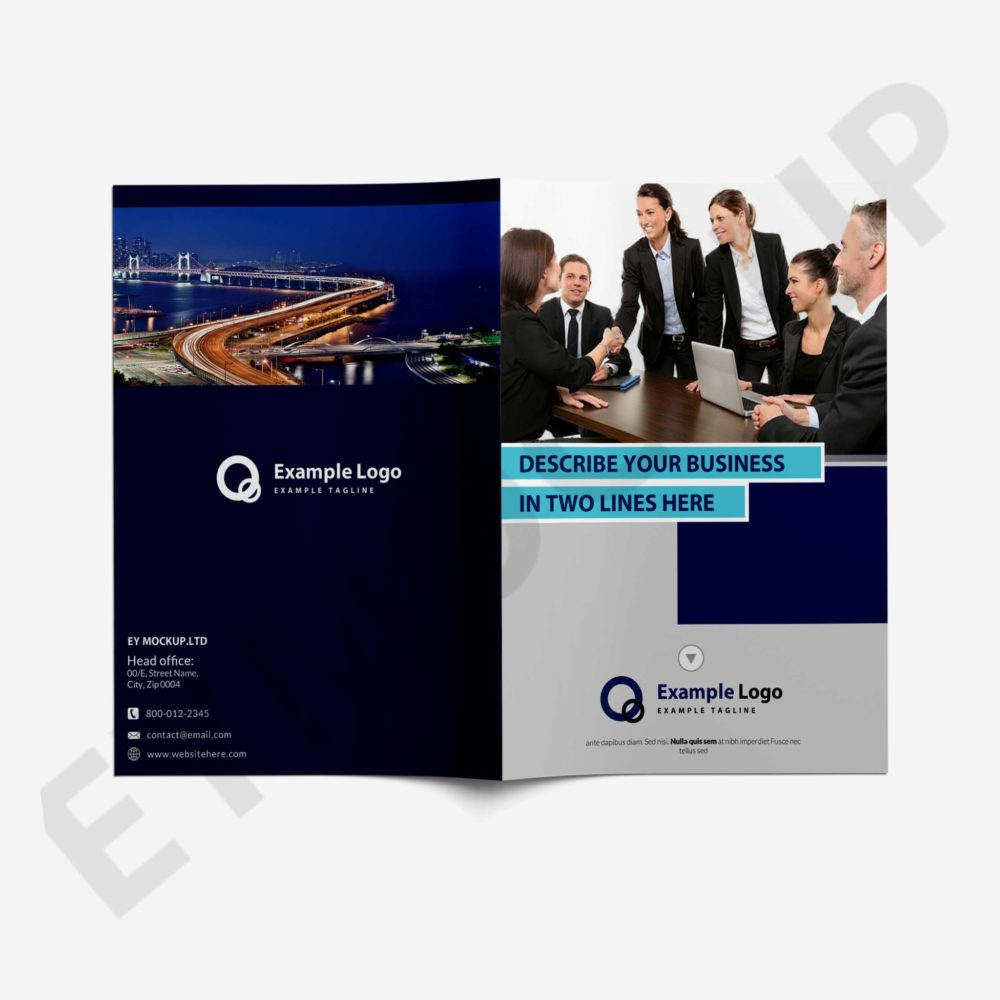 Business PSD Brochure