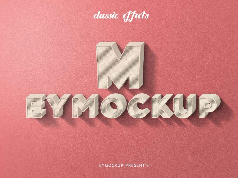 3d Like Logo Mockup