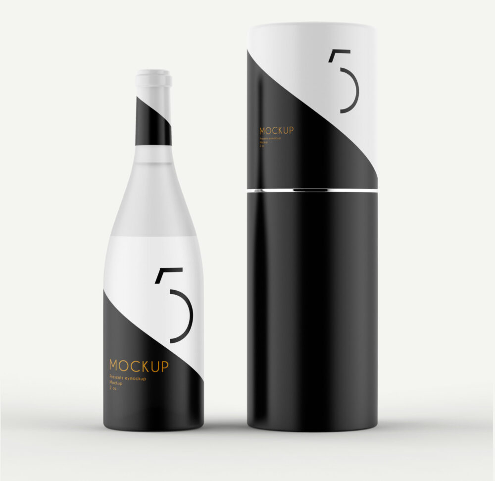 Bottle Packaging Mock-up