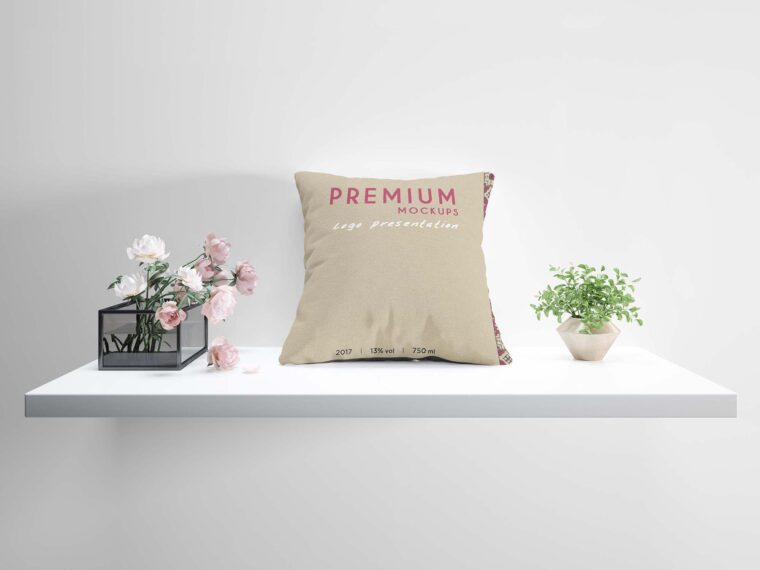 Cushion Pillow Deisgn Mockup